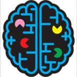Picture of a pac man brain